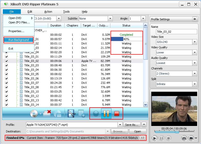 Free dvd ripper platinum tutorial