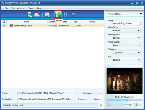 Xilisoft Video Converter Standard